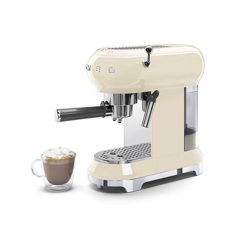 Smeg - Coffee Machine - Cream 3