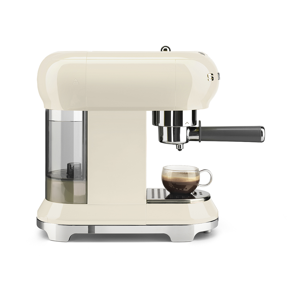 Smeg - Coffee Machine - Cream 7