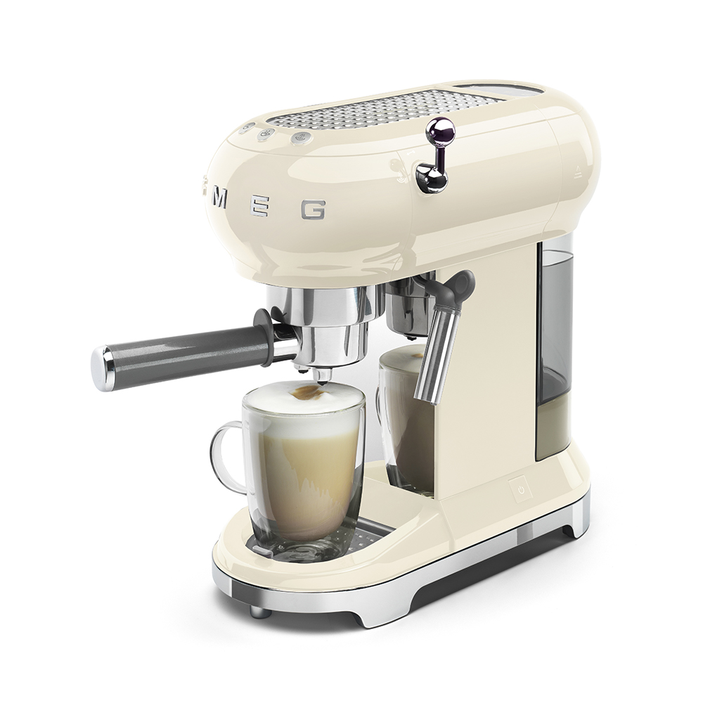 Smeg - Coffee Machine - Cream 8