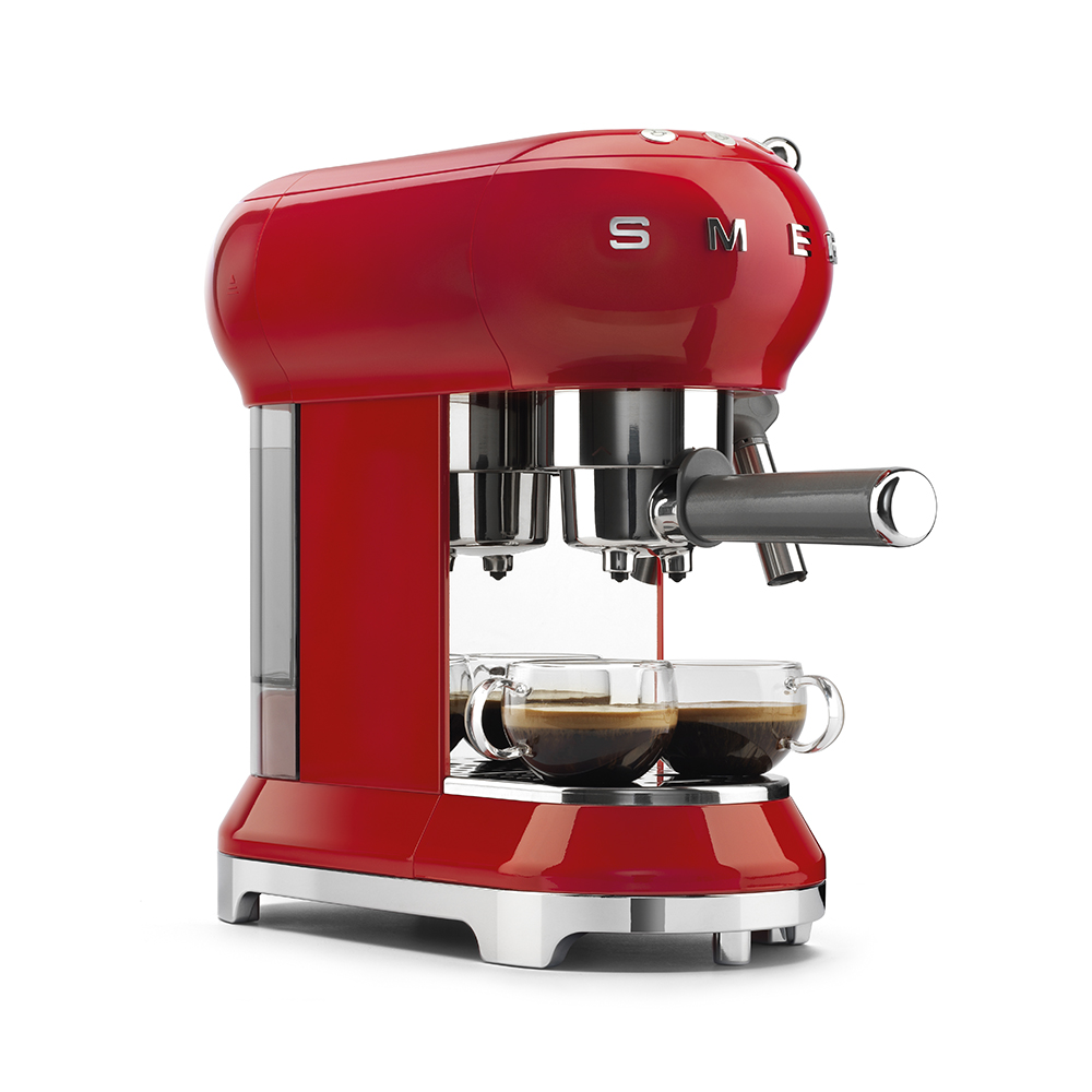 Smeg - Coffee Machine - Red 4