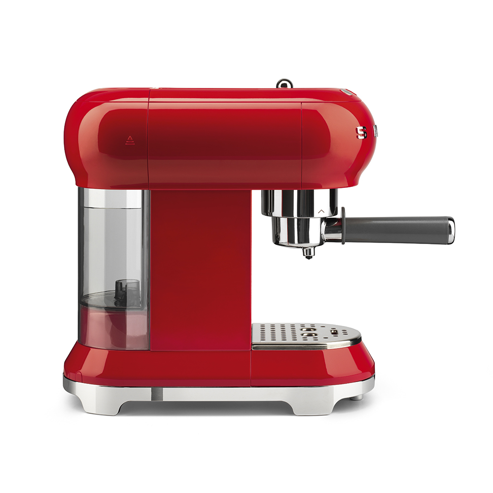Smeg - Coffee Machine - Red 5