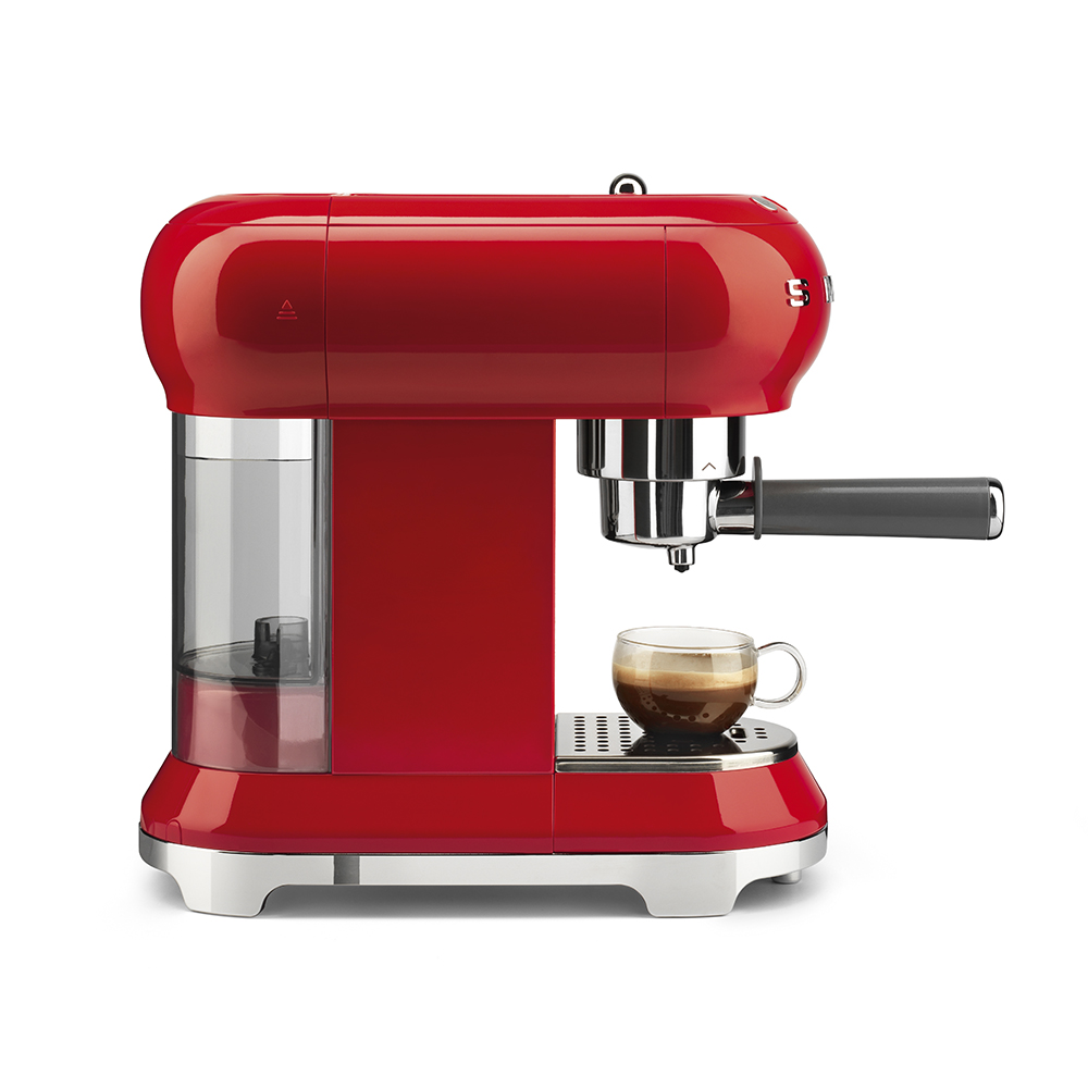 Smeg - Coffee Machine - Red 6