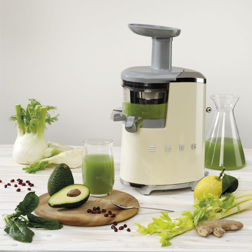Smeg - Slow Blender - Cream 4