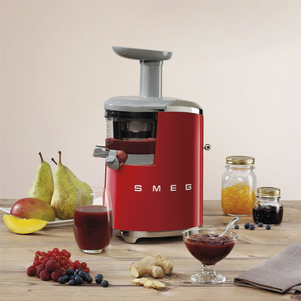 Smeg - Slow Blender - Red 3