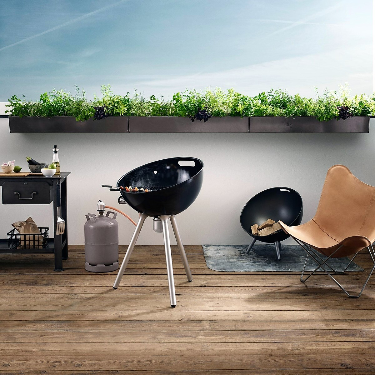 eva solo barbecues barbecue fireglobe gas grill. Black Bedroom Furniture Sets. Home Design Ideas