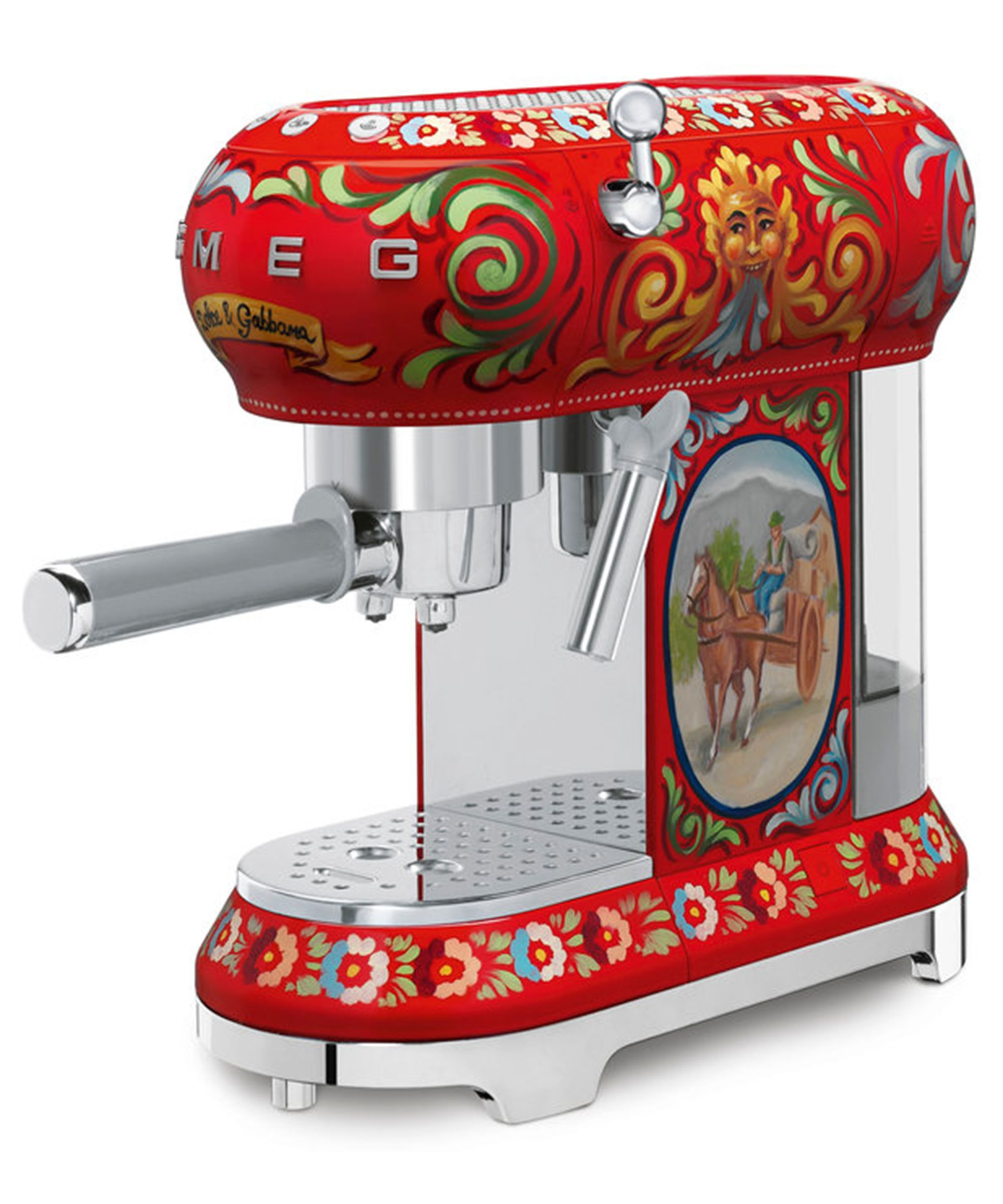 Smeg Kitchen Appliance Coffee Machine by Dolce & Gabbana
