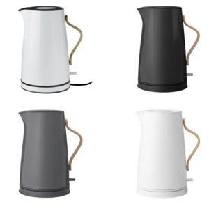 Stelton Electric Kettle kitchen appliances in different colours
