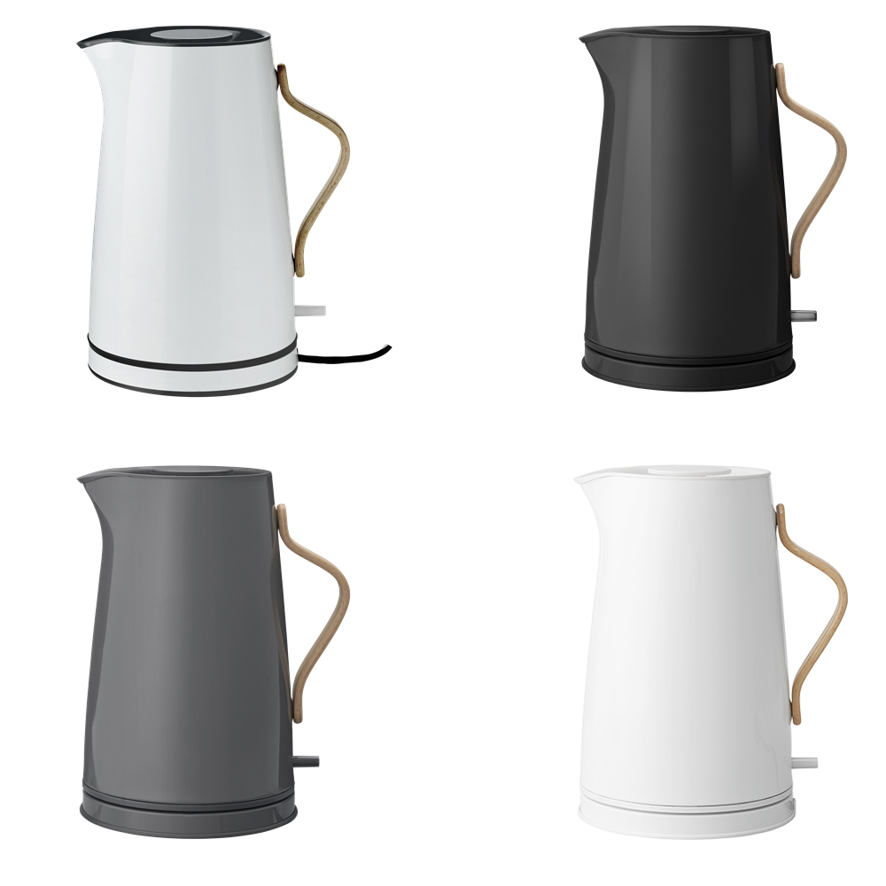 stelton kitchen appliance kettles danish modern emma electric kettle. Black Bedroom Furniture Sets. Home Design Ideas