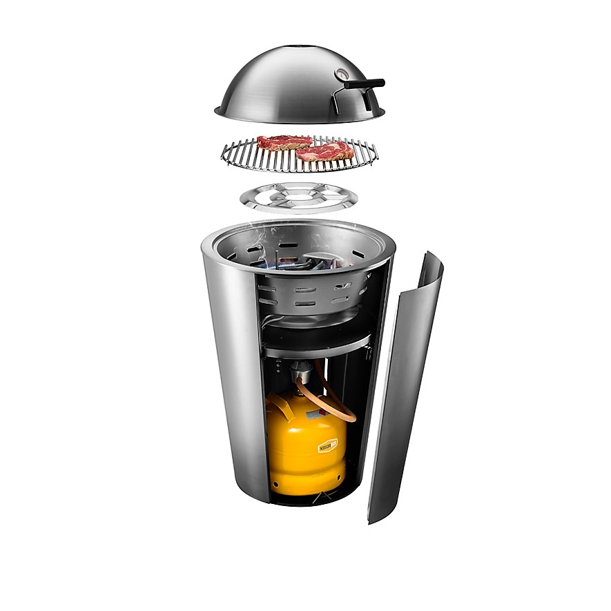 Eva Solo - Gas grill Stainless Steel 2