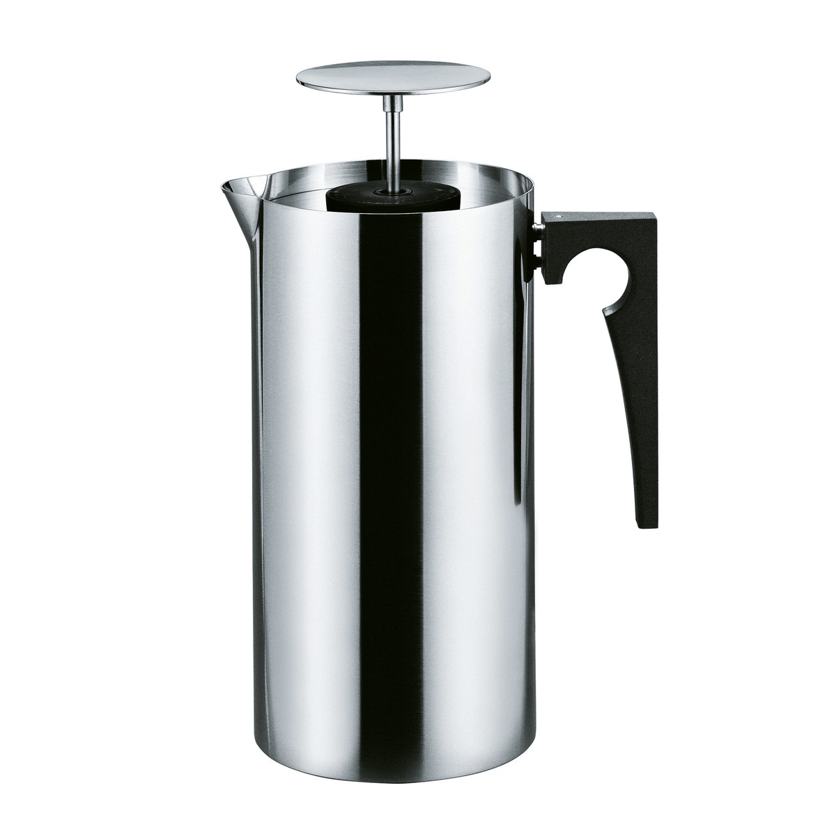 Stelton - Kitchenware Cylinda press coffee maker in stainless steel