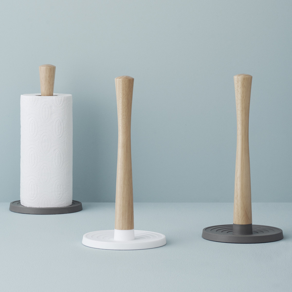 Rigtig Kitchen Roll Holder White And Grey