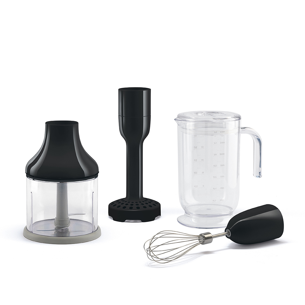 Smeg - Kitchen Appliance Hand Beater and Accessories in Black