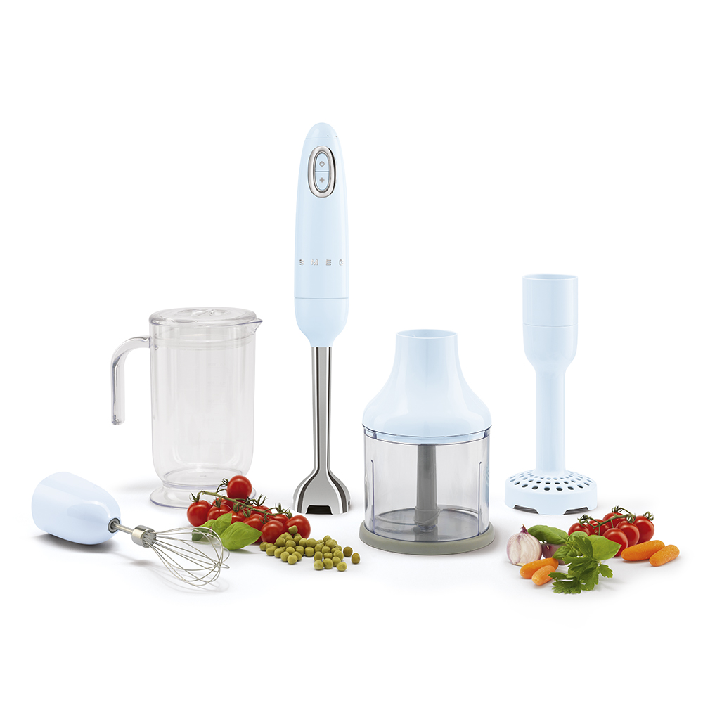Smeg - Kitchen Appliance Hand Beater and Accessories in Blue