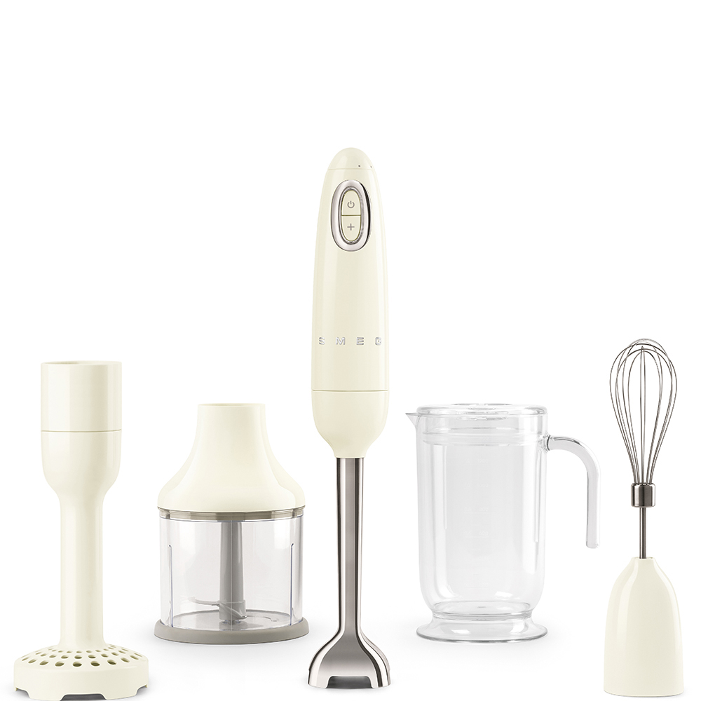 Smeg - Kitchen Appliance Hand Beater and Accessories in Cream