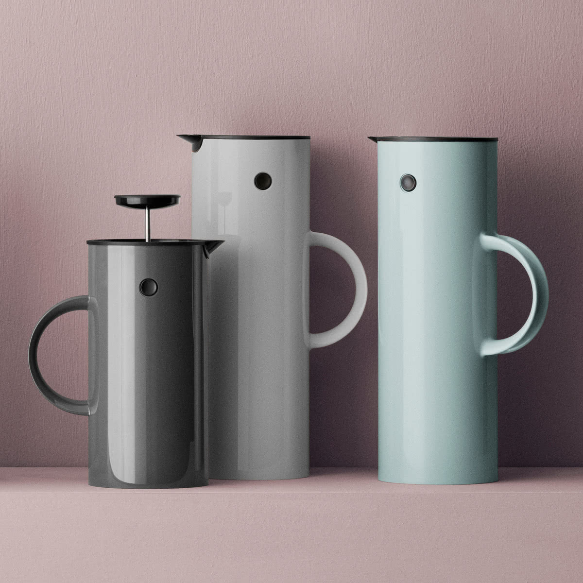 Stelton Coffee Amp Tea Thermo Flask Classic Em77