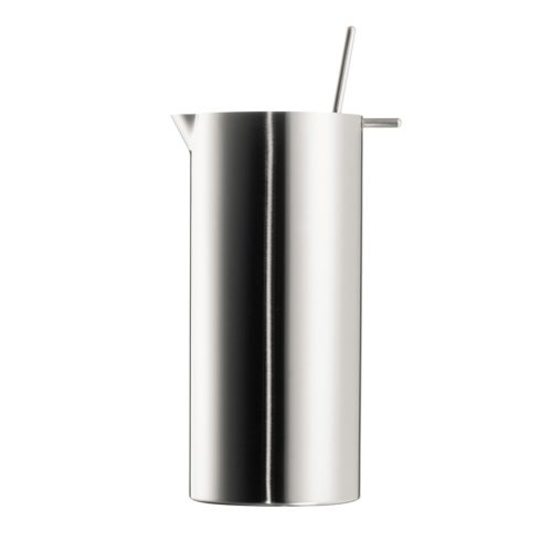 Stelton - Cylinda Cocktail Shaker with spoon stainless steel 1