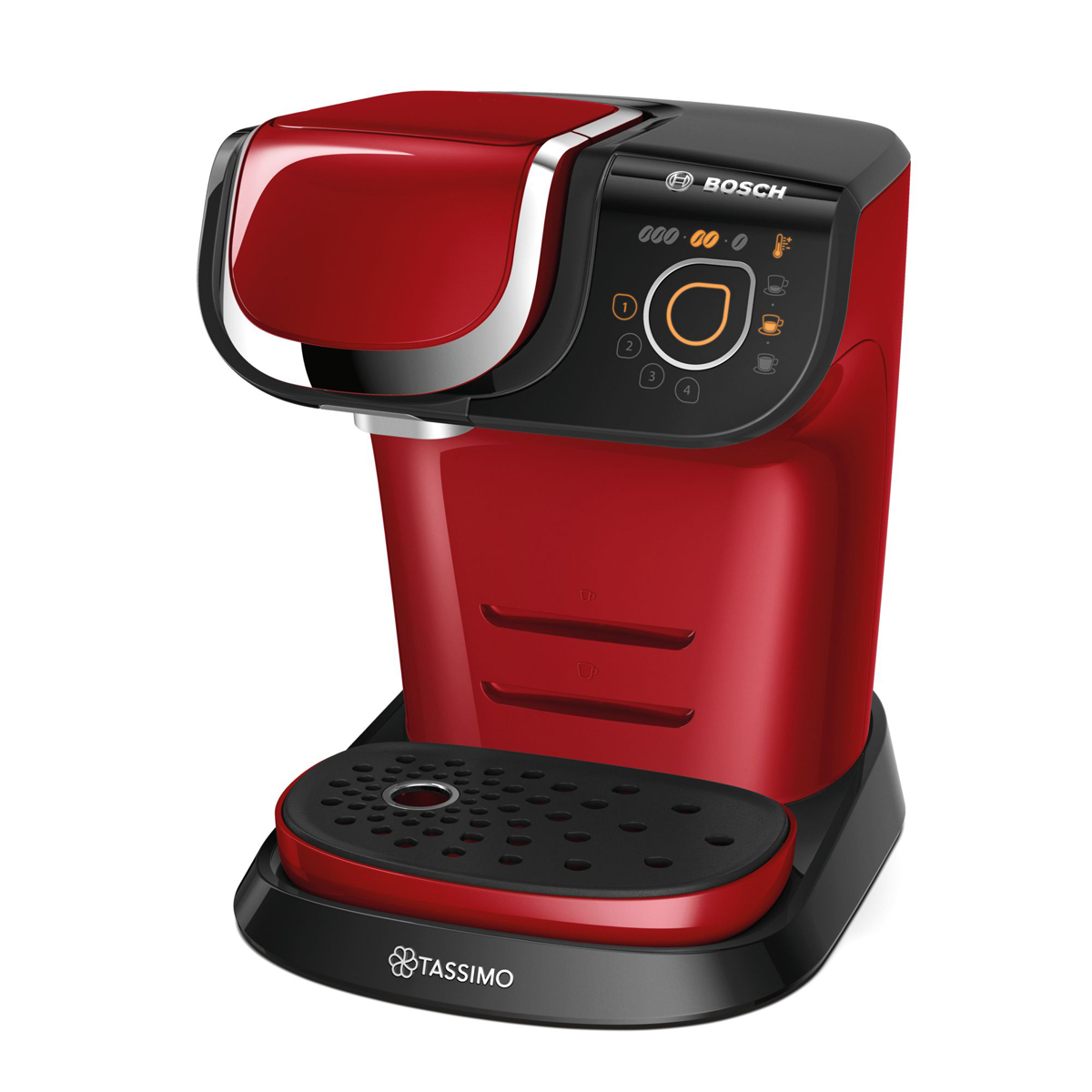 bosch coffee maker tassimo my way red 1 kitchen spain. Black Bedroom Furniture Sets. Home Design Ideas