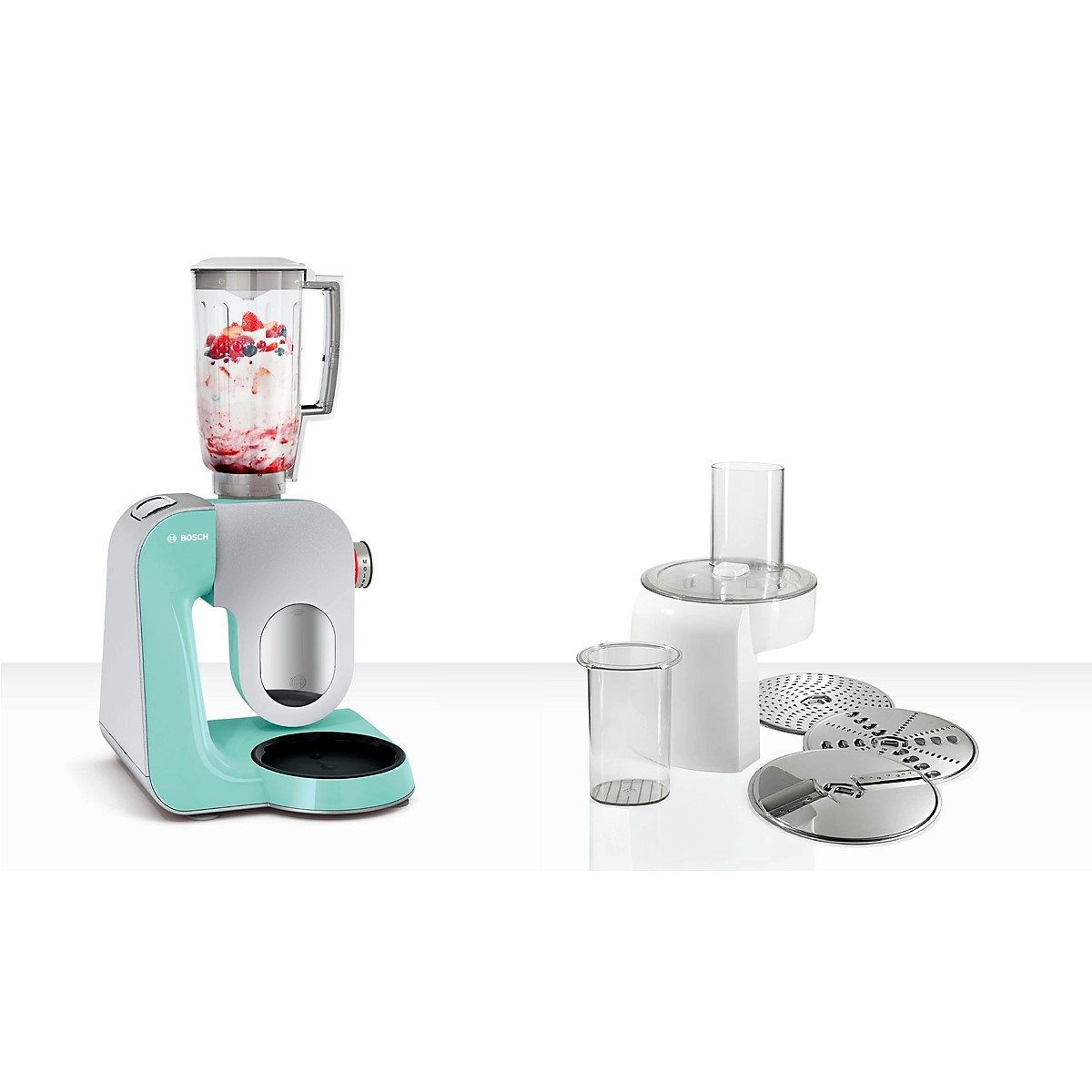 Bosch - Kitchen Machine MUM5 Styline Colour Mint 2