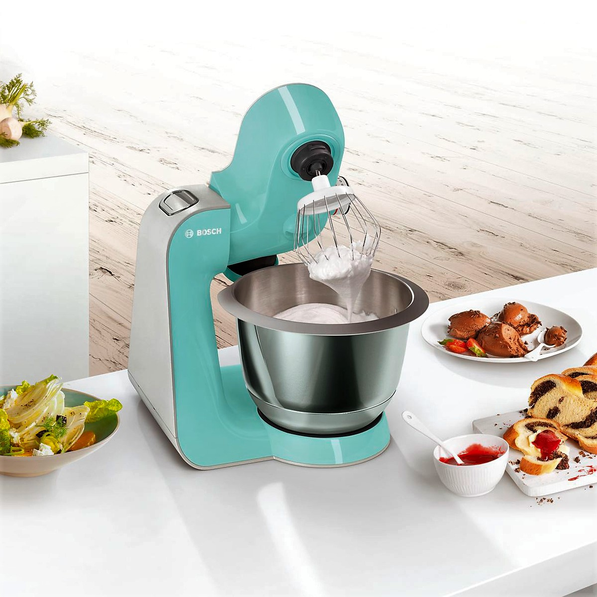 Bosch - Kitchen Machine MUM5 Styline Colour Mint 3