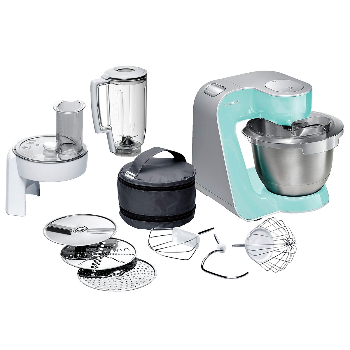 Bosch - Kitchen Machine MUM5 Styline Colour Mint 4