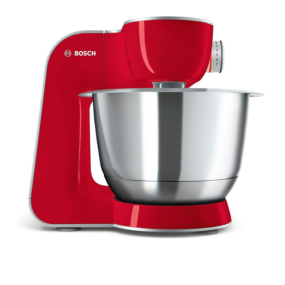 Bosch - Kitchen Machine MUM5 Styline Colour red silver 1