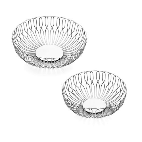 Georg Jensen - Alfredo Haberli Bread Basket Stainless Steel Mix