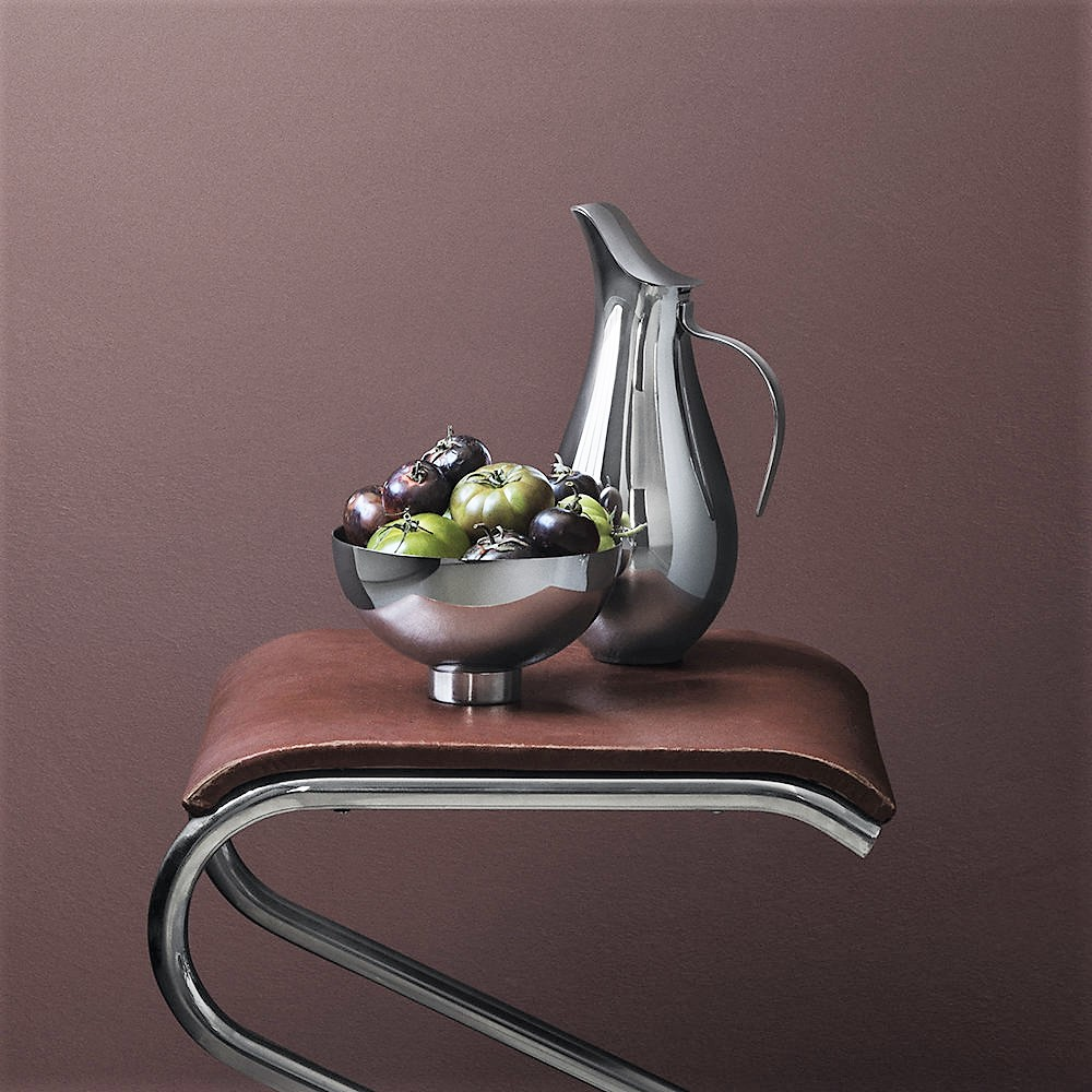 Georg Jensen - Ilse Pitcher & Bowl Stainless Steel