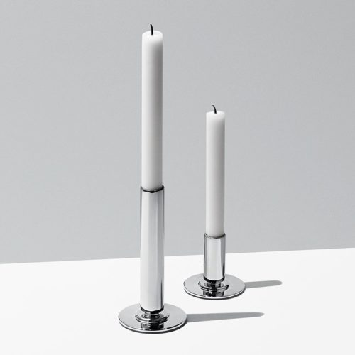 Georg Jensen - Manhattan Candle Holder Set 2