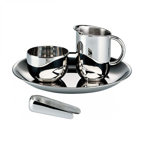 Officina Alessi - Bauhaus Sugar & Creamer Set 1