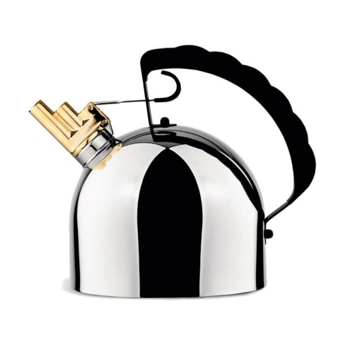 Officina Alessi - Richard Sapper Kettle Stainless Steel 1