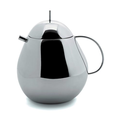 Officina Alessi - Sanaa Fruit Teapot Stainless Steel 1