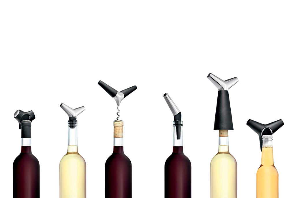 KitchenSpain Eva Solo Wine & Bar Corkscrew, Pourer, Stopper and Foil Cutter