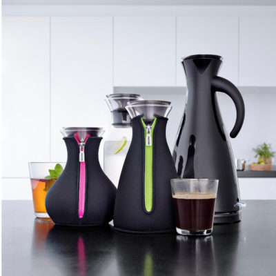 Eva Solo Electric Kettle, Coffee Maker, Tea Maker, Carafe and Tumblers