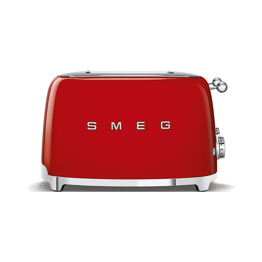 Smeg - Toaster - 4 slots - Red