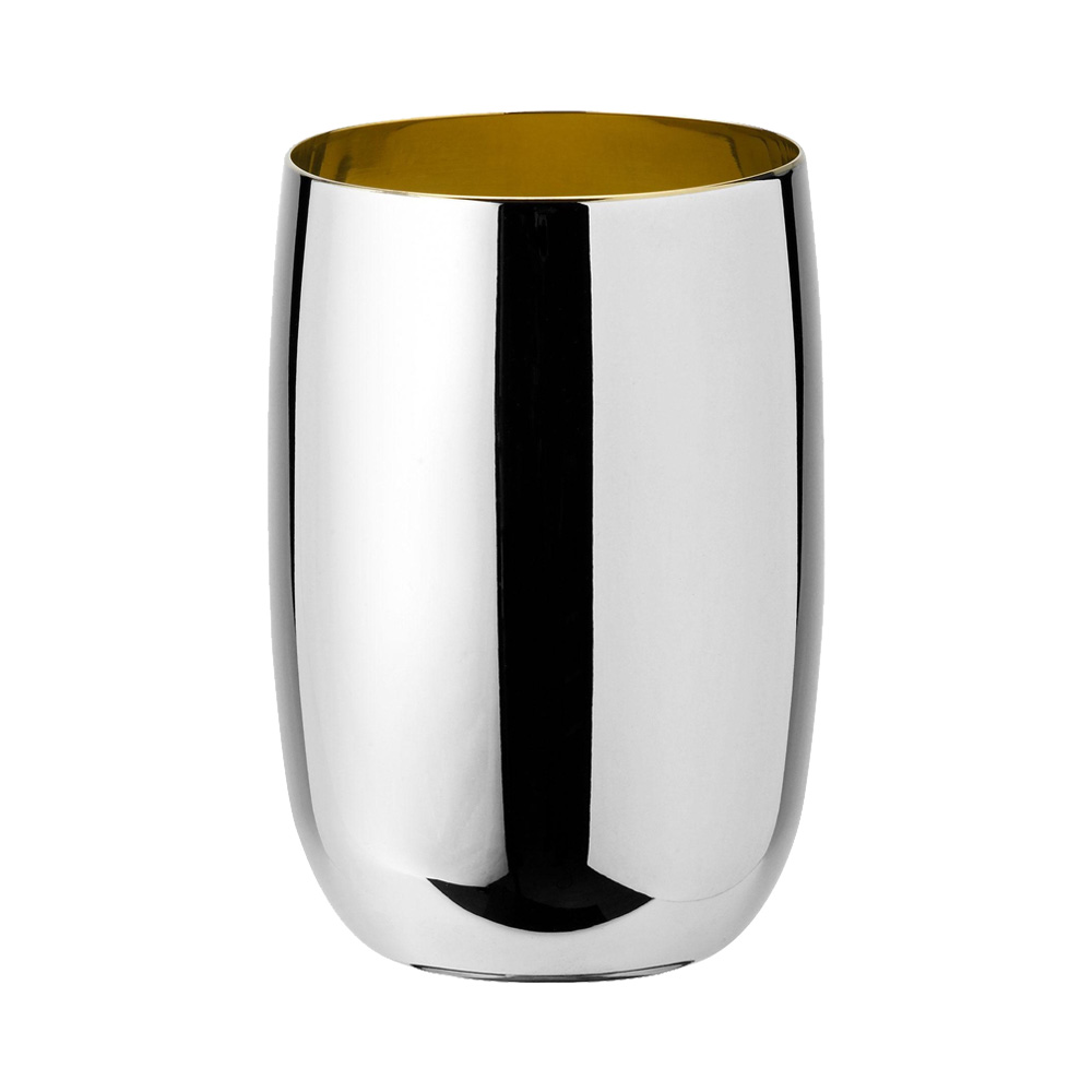 Stelton - Foster water glass steel golden